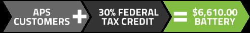 APS-Rebate-Tax-Battery-cost
