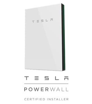 tesla powerwall and logo